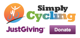 Simply Cycling. Just Giving. Donate.