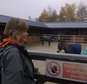 Helen and Donkey!