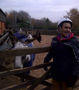 Mustafa and Donkey